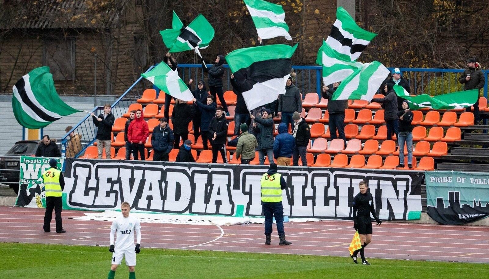 FC Levadia vs FC Flora.