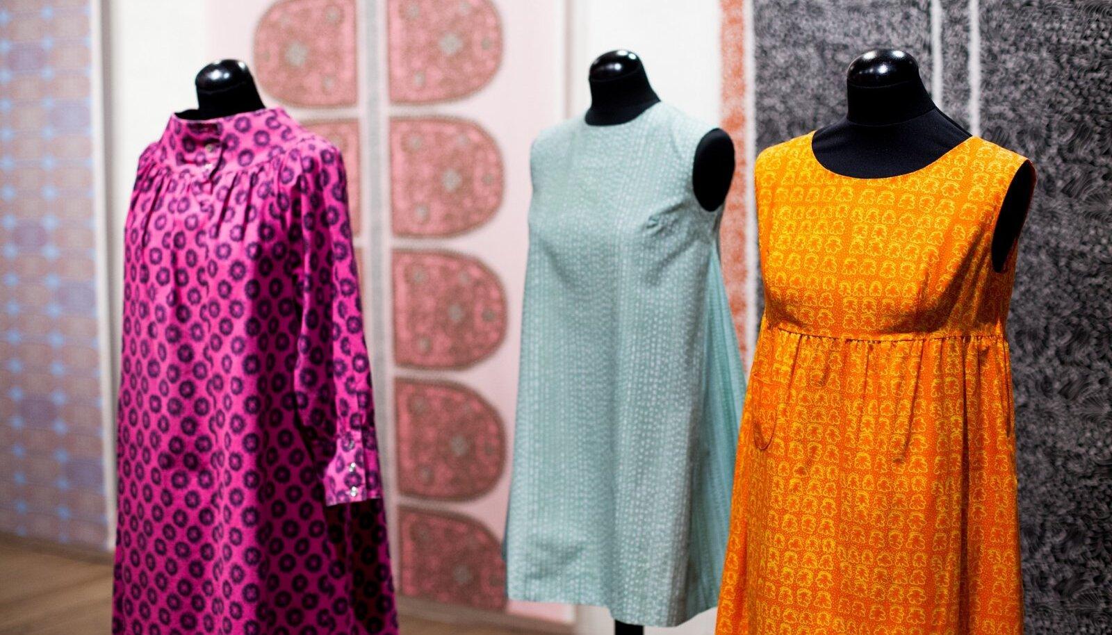 Soome Marimekko näitus Eesti Disaini- ja Tarbekunstimuuseumis