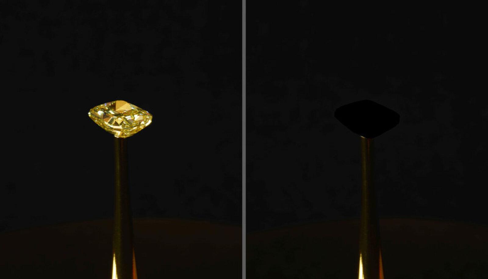 Kõige mustem must värv neelab 99.995 % valgusest