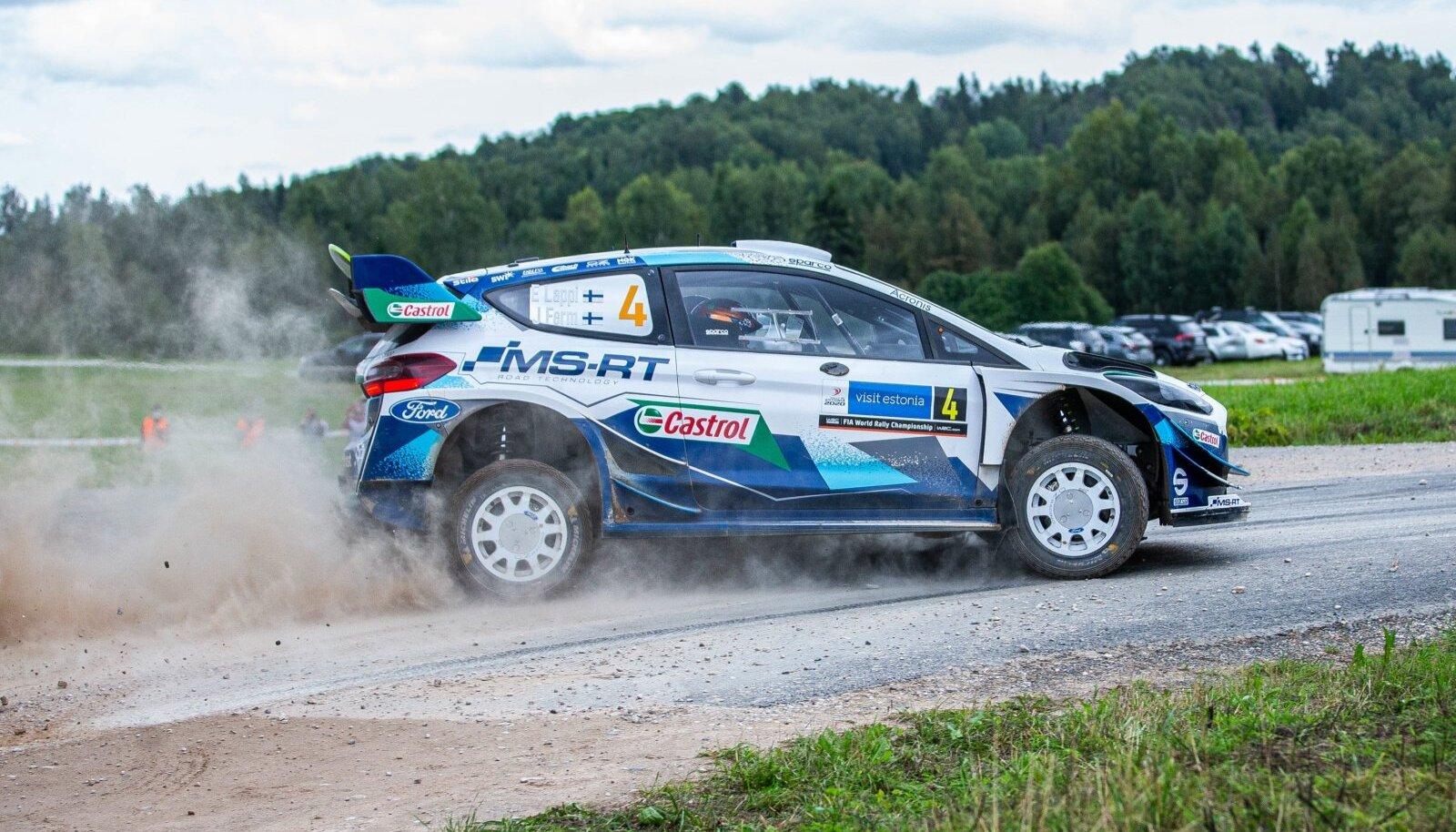 Esapekka Lappi mullusel Rally Estonial