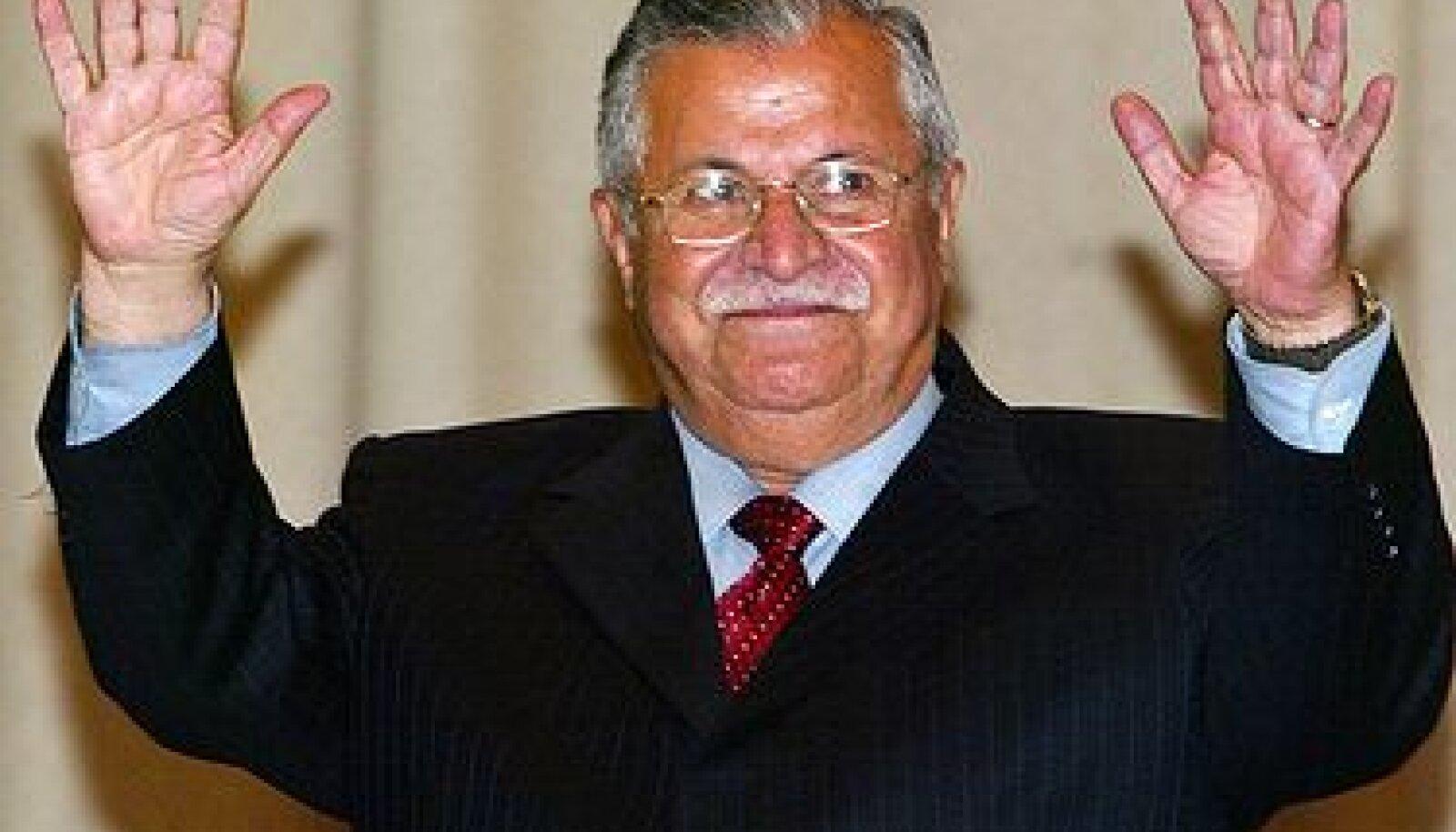 Iraagi president Jalal Talabani