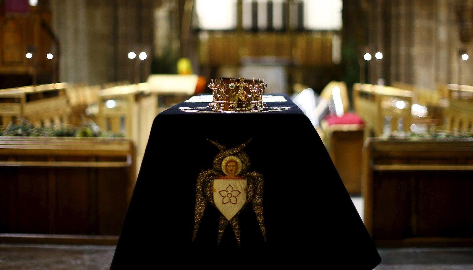 Richard III maeti 530 aastat tagasi salaja, nüüd saab ta pidulikud matused.