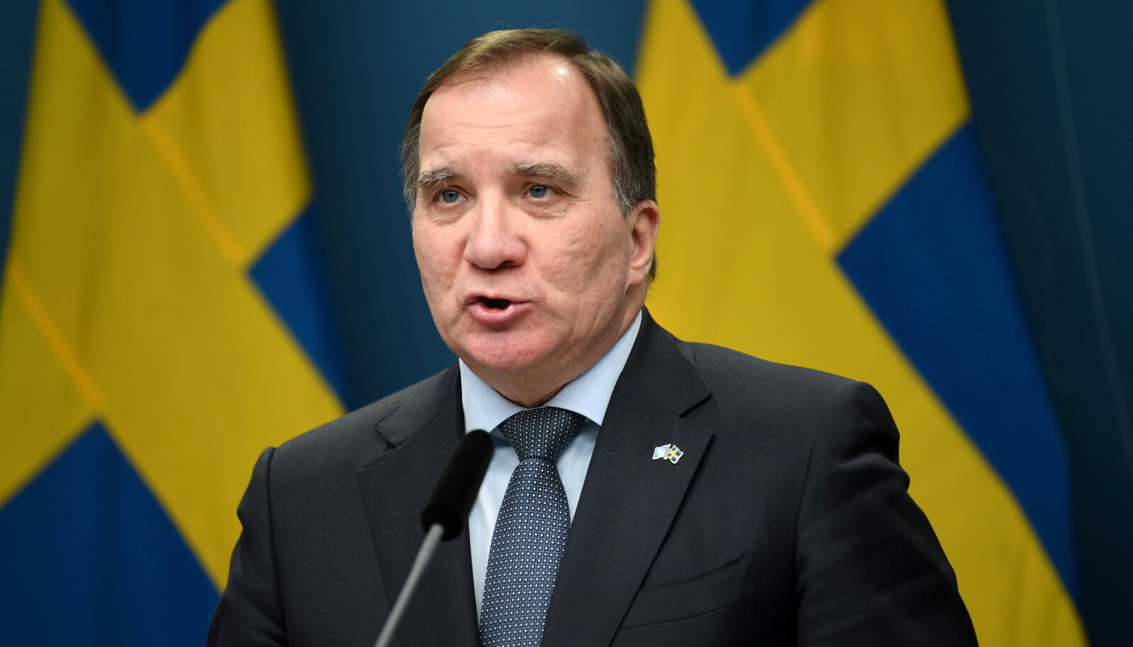 Peaminister Stefan Löfven