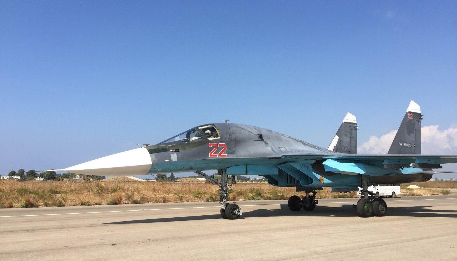 Su-34 Süürias