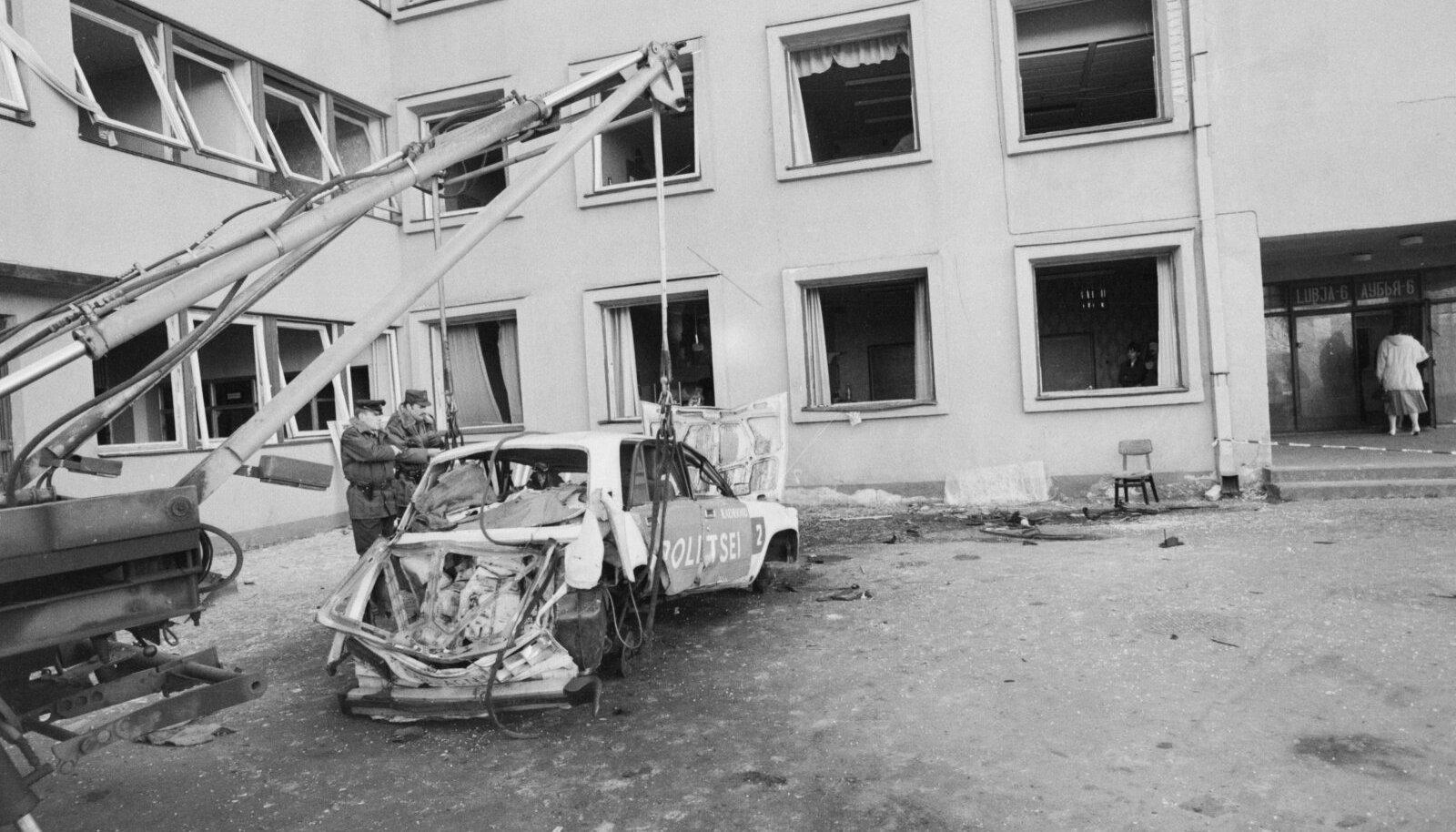 KURJAM PÄÄSES TERVE NAHAGA: 1993. aastal toimunud politseimaja pommirünnak on kuriteona aegunud, selle korraldajat vastutusele võtta ei saa.