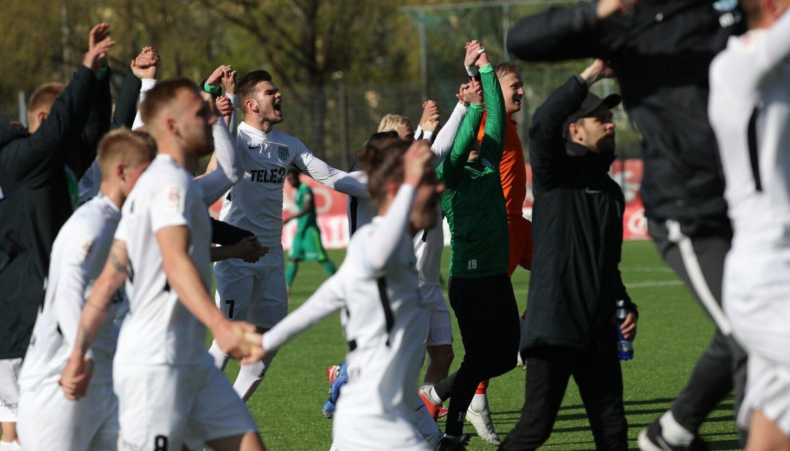 Hooaja esimese Tallinna derbi võitis FC Flora