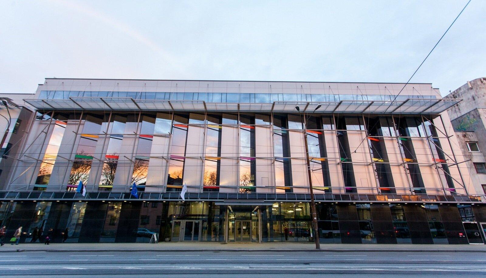 Tallinna Ülikooli Astra maja Narva maanteel