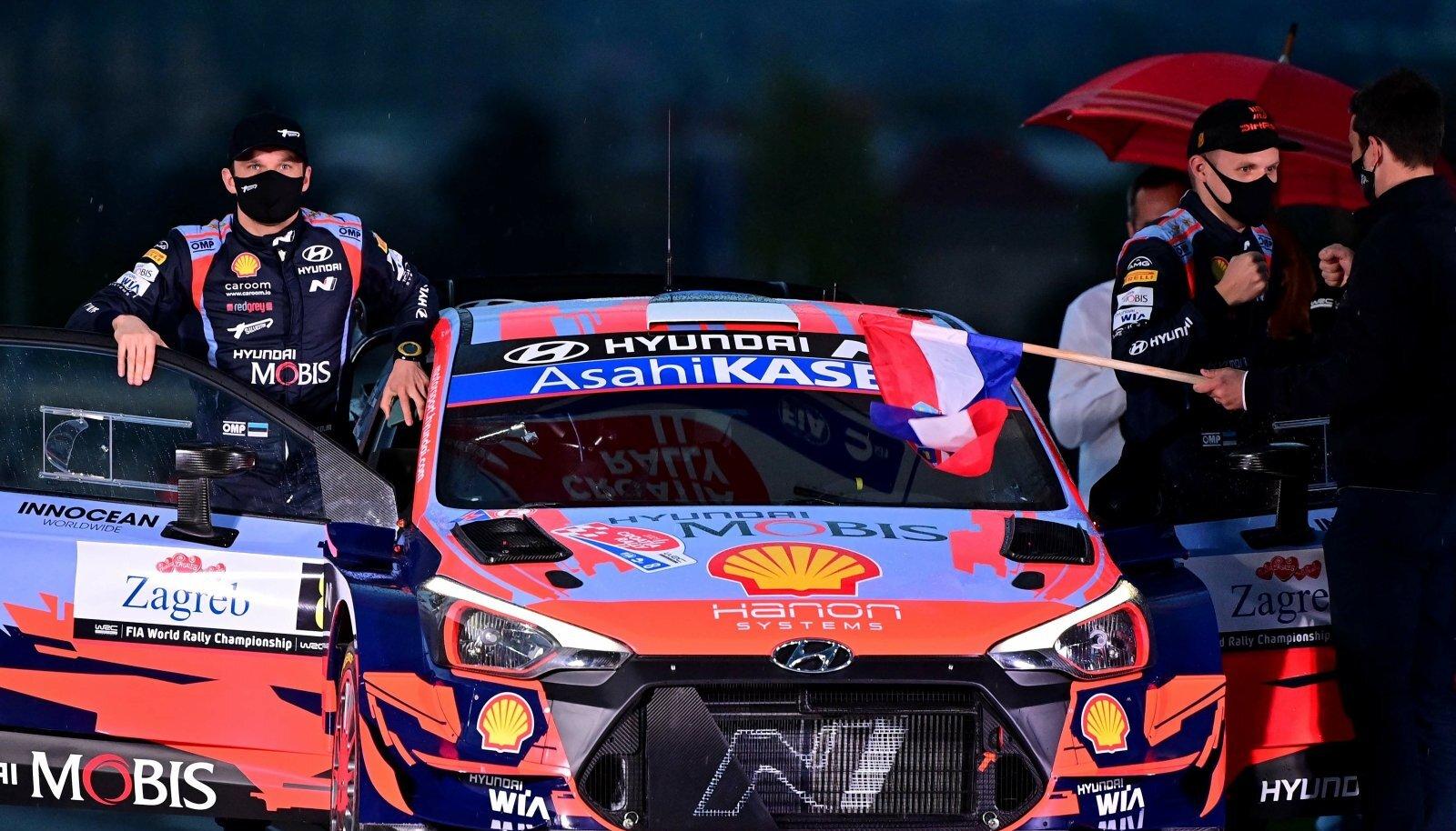 Ott Tänak ja Martin Järveoja jätkavad Hyundais.