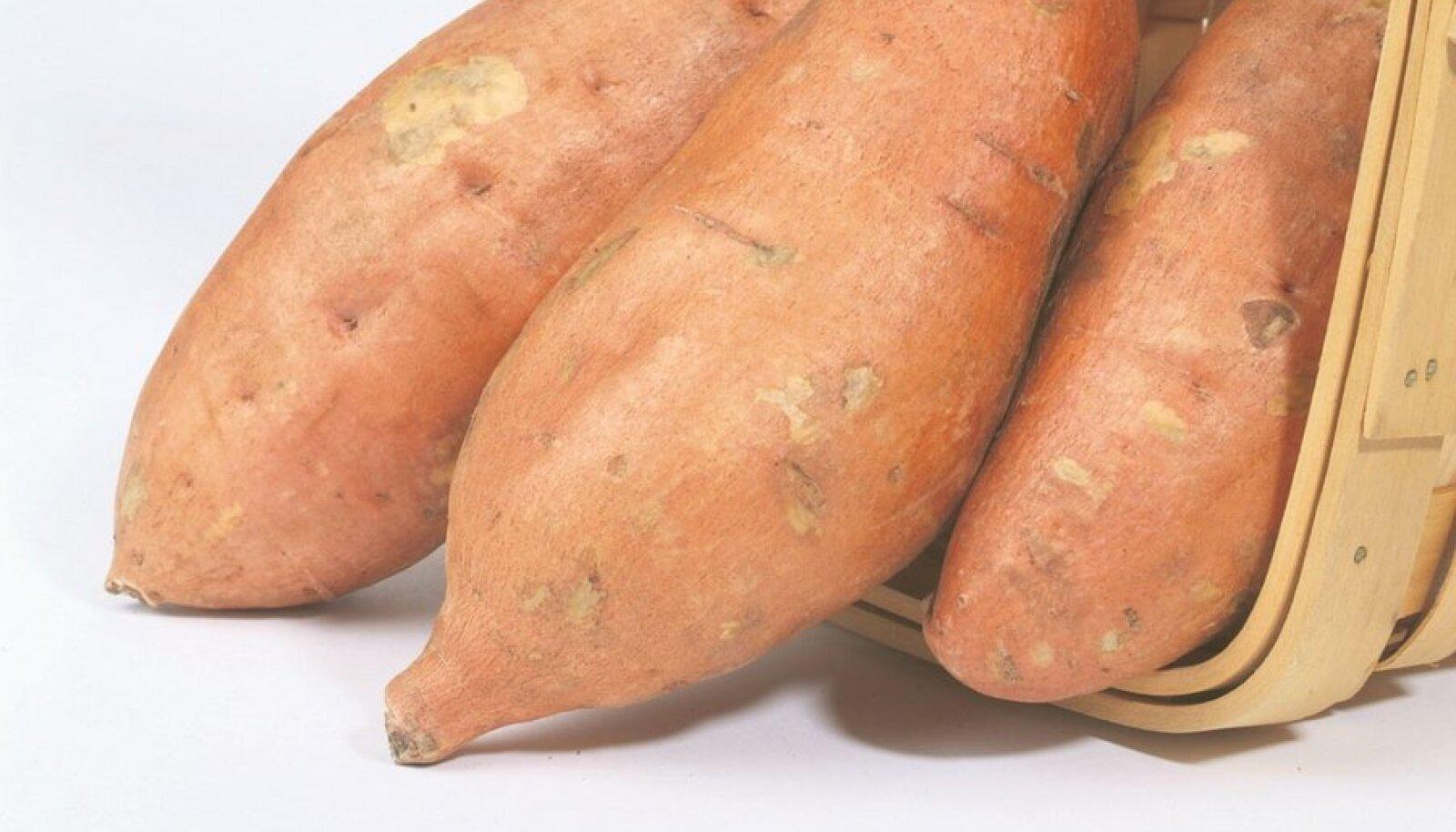 Bataat sarnaneb välimuselt kartuliga.