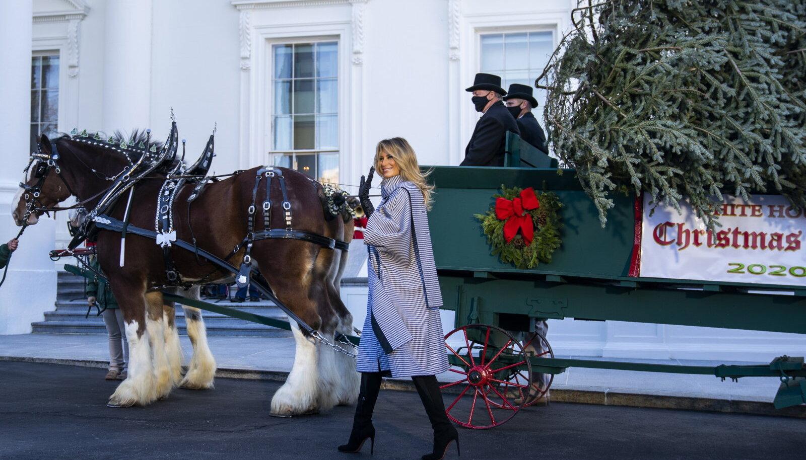 2020. aasta jõulud Valges Majas