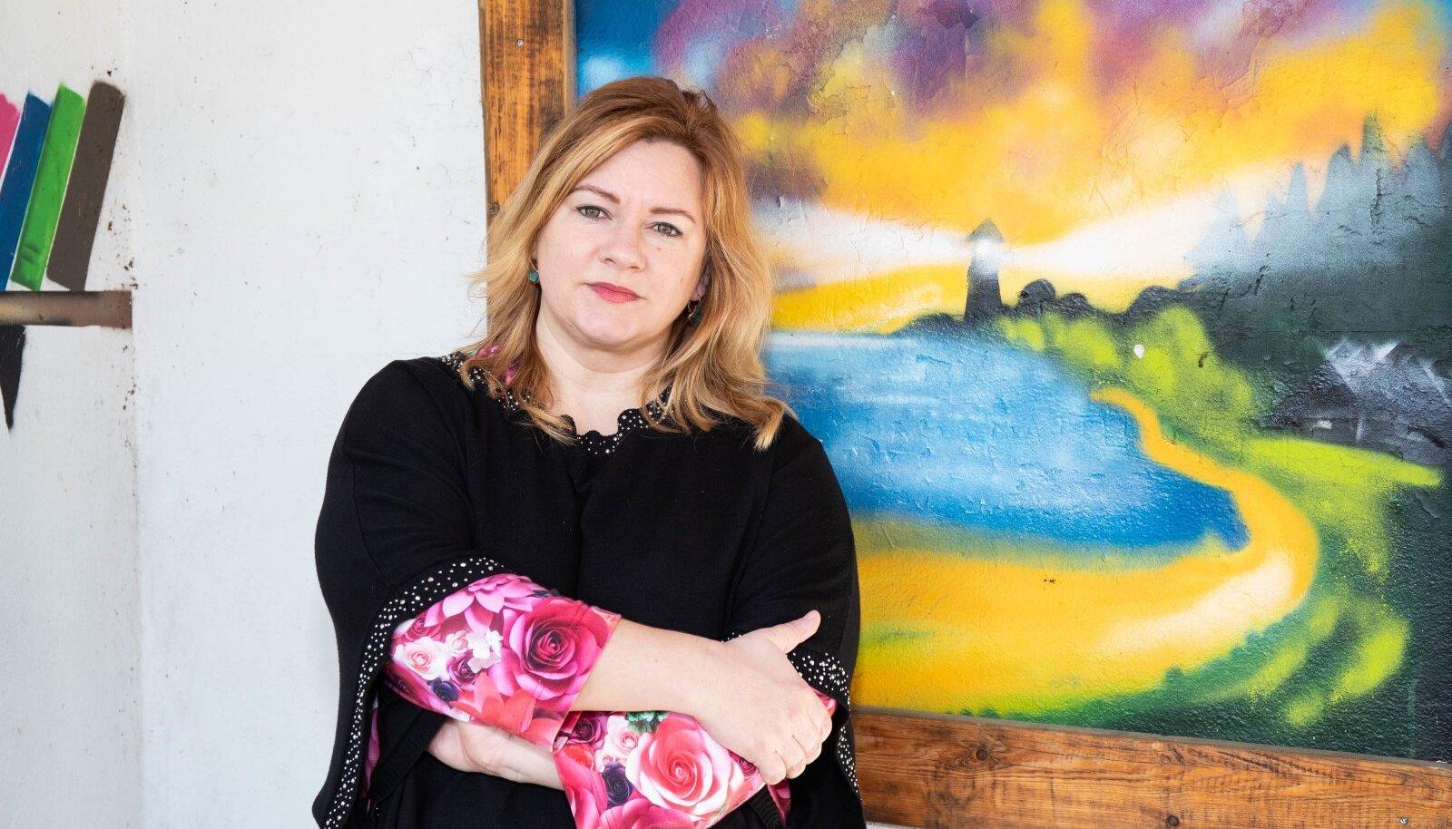 Valga vallavanem Monika Rogenbaum
