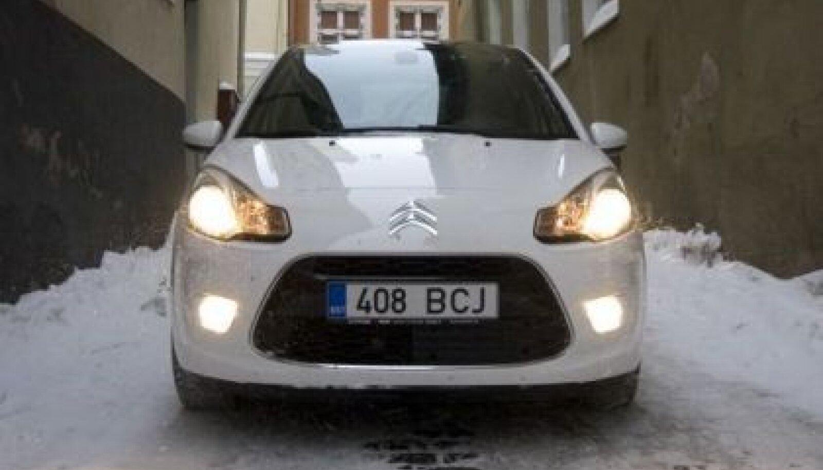 Citroën C3 on taas ehtcitroënilikult moekas. Lisaks ka nupsik
