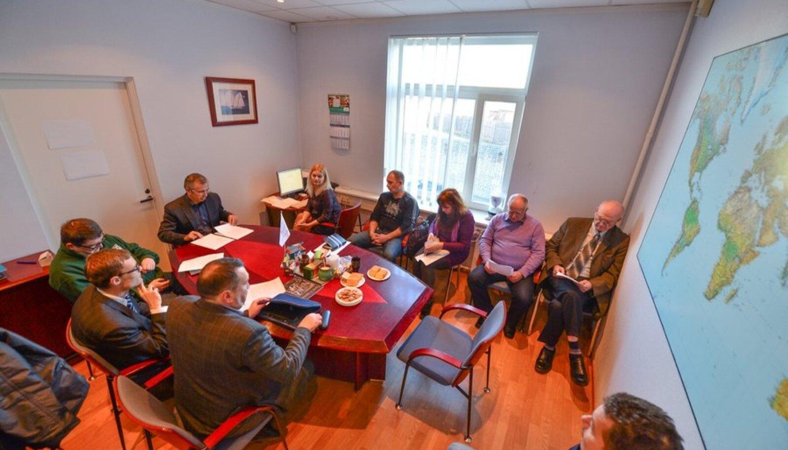 Первое заседание Русского дискуссионного клуба