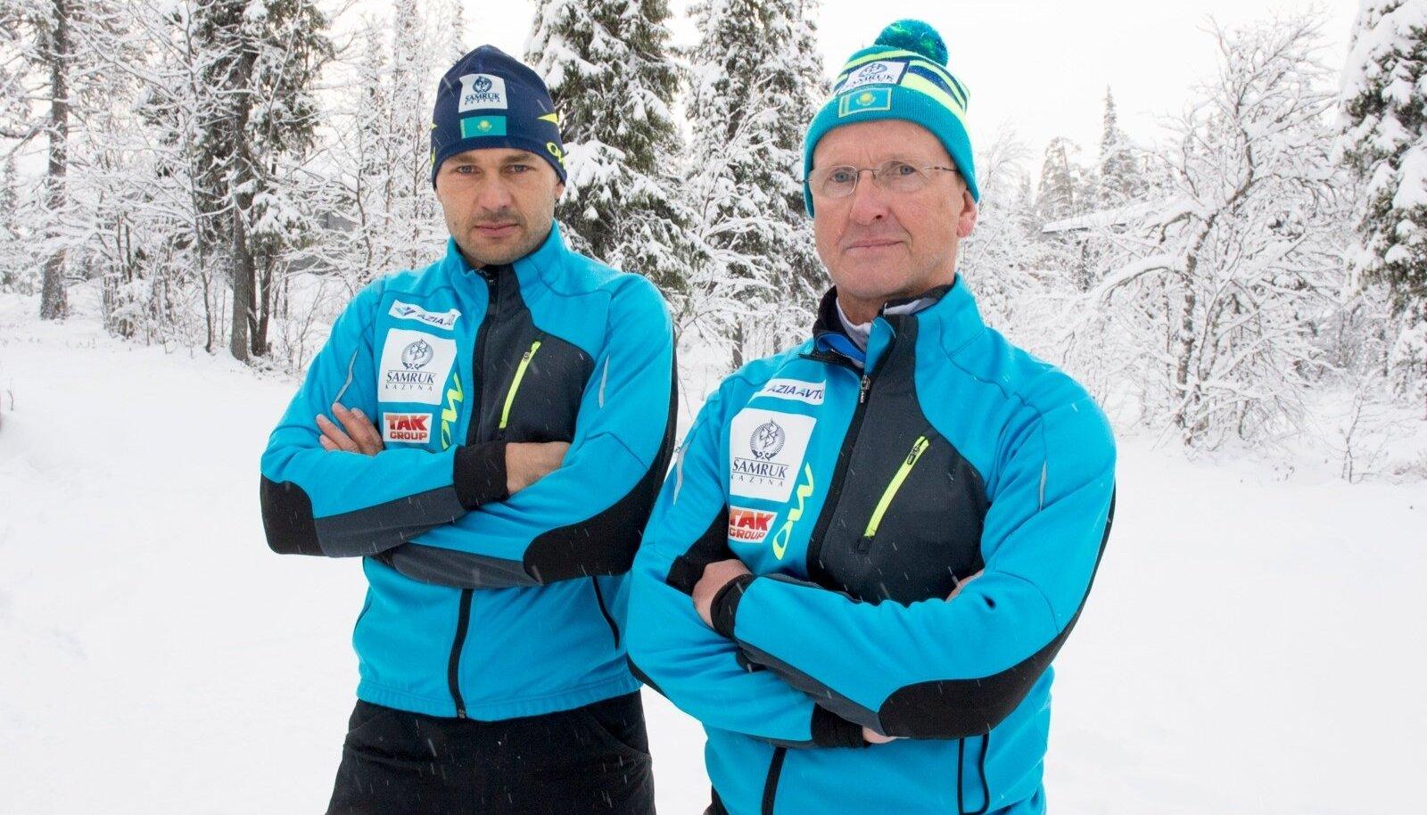 Andrus Veerpalu ja Mati Alaver ei tea ilmselt dopingust midagi.