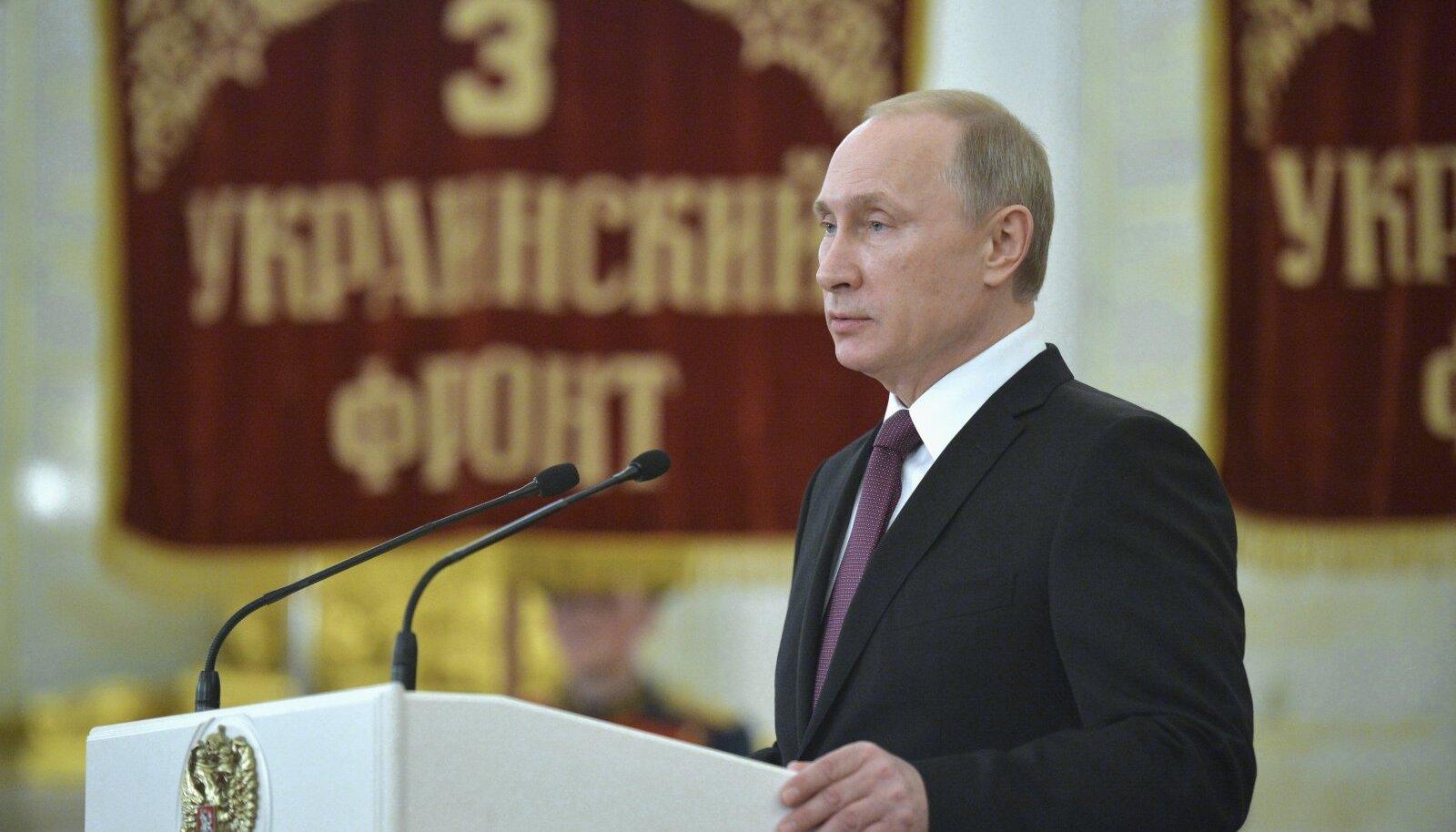 Putin on avanud Ukrainas uuesti 3. rinde?