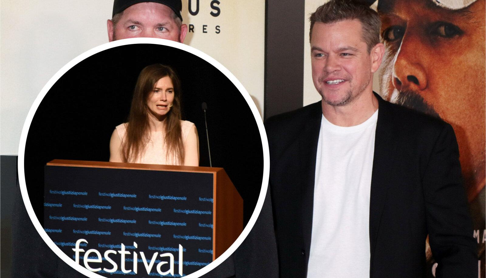 Amanda Knox ja Matt Damon