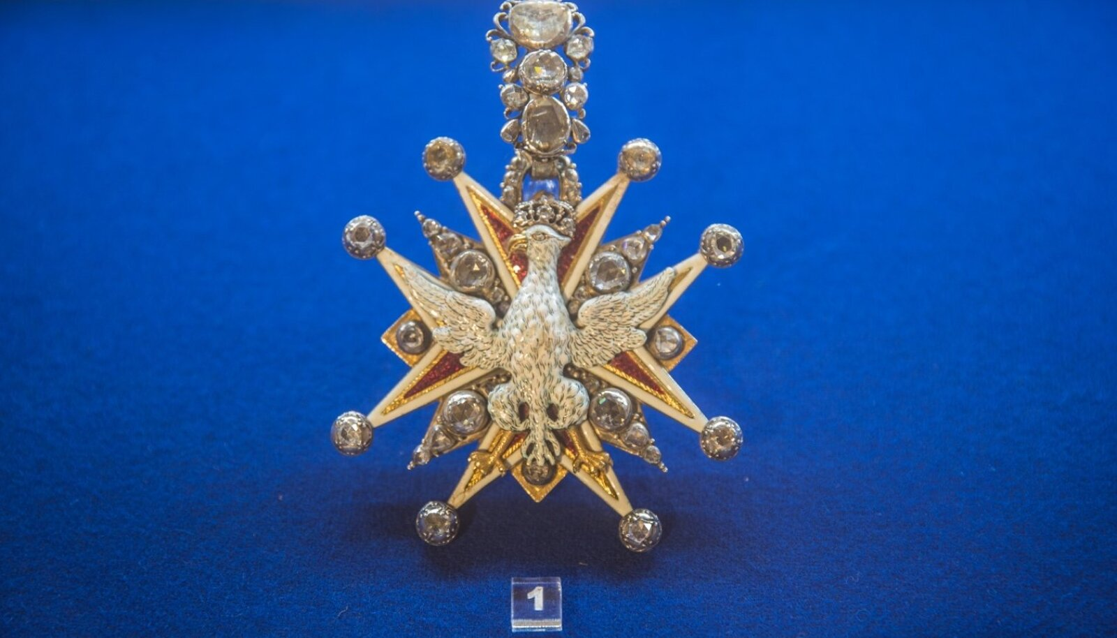 Pikalt kadunud olnud Valge Kotka orden oli tsaar Peeter I ordenite kogus üsna silmapaistev.