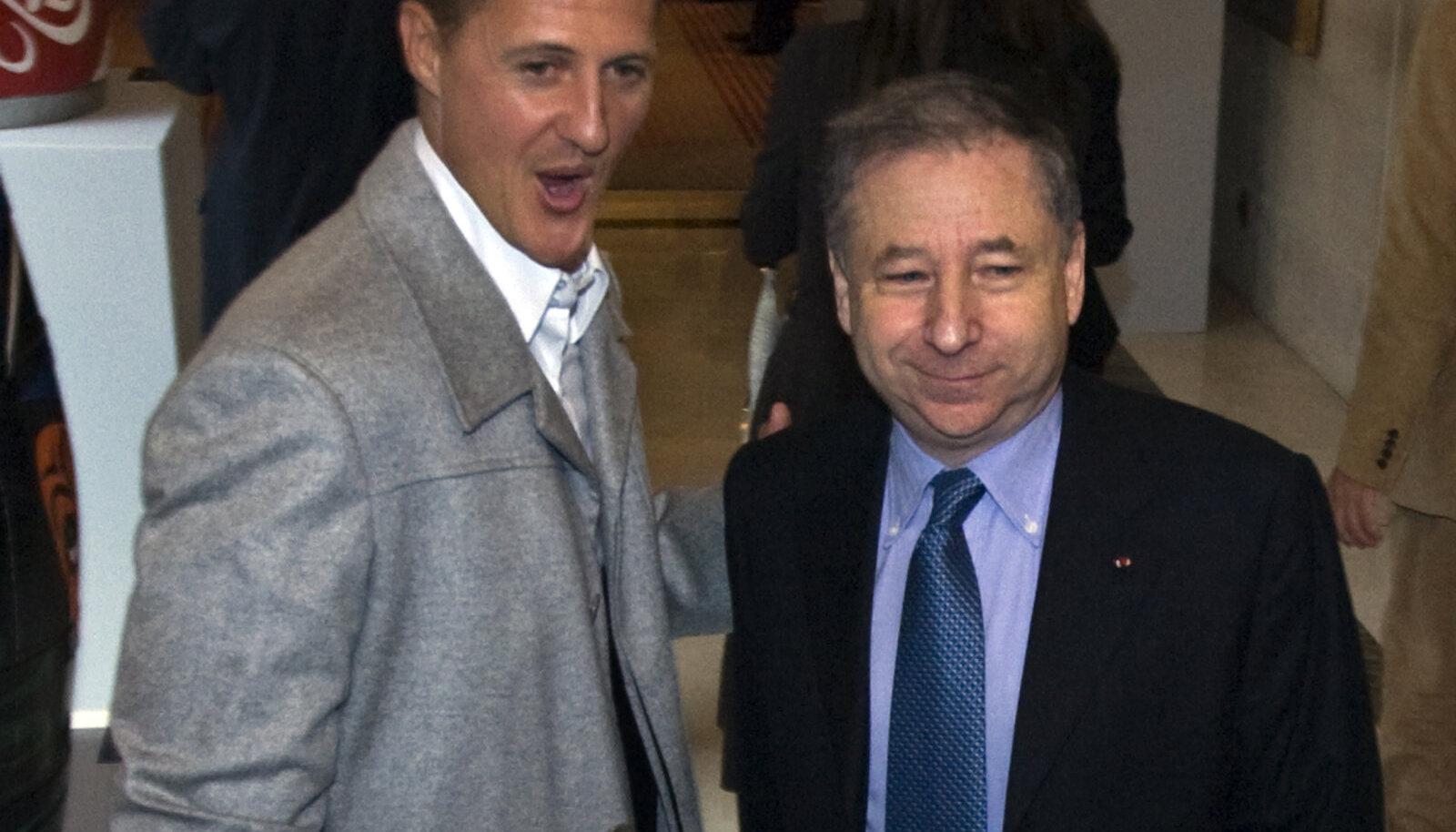 Michael Schumacher ja Jean Todt.