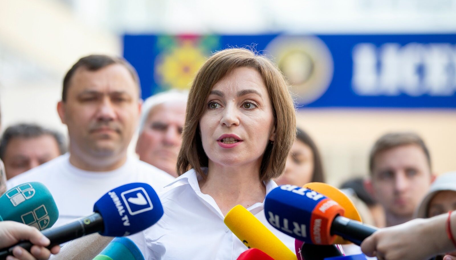 Moldova president Maia Sandu