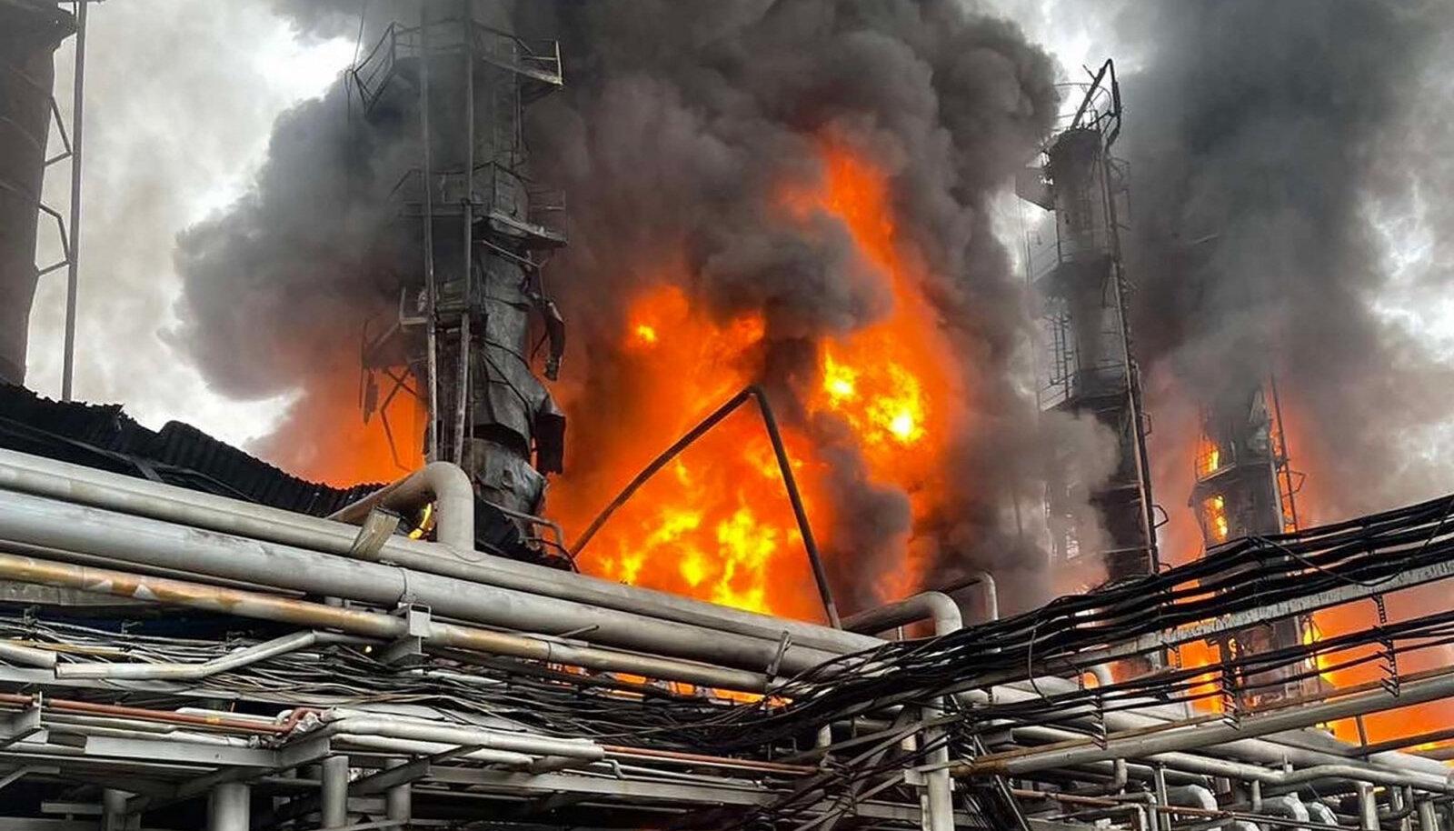 Gazprom toob kõrge hinna põhjenduseks mh plahvatuse Urengoi kondensatsioonijaamas