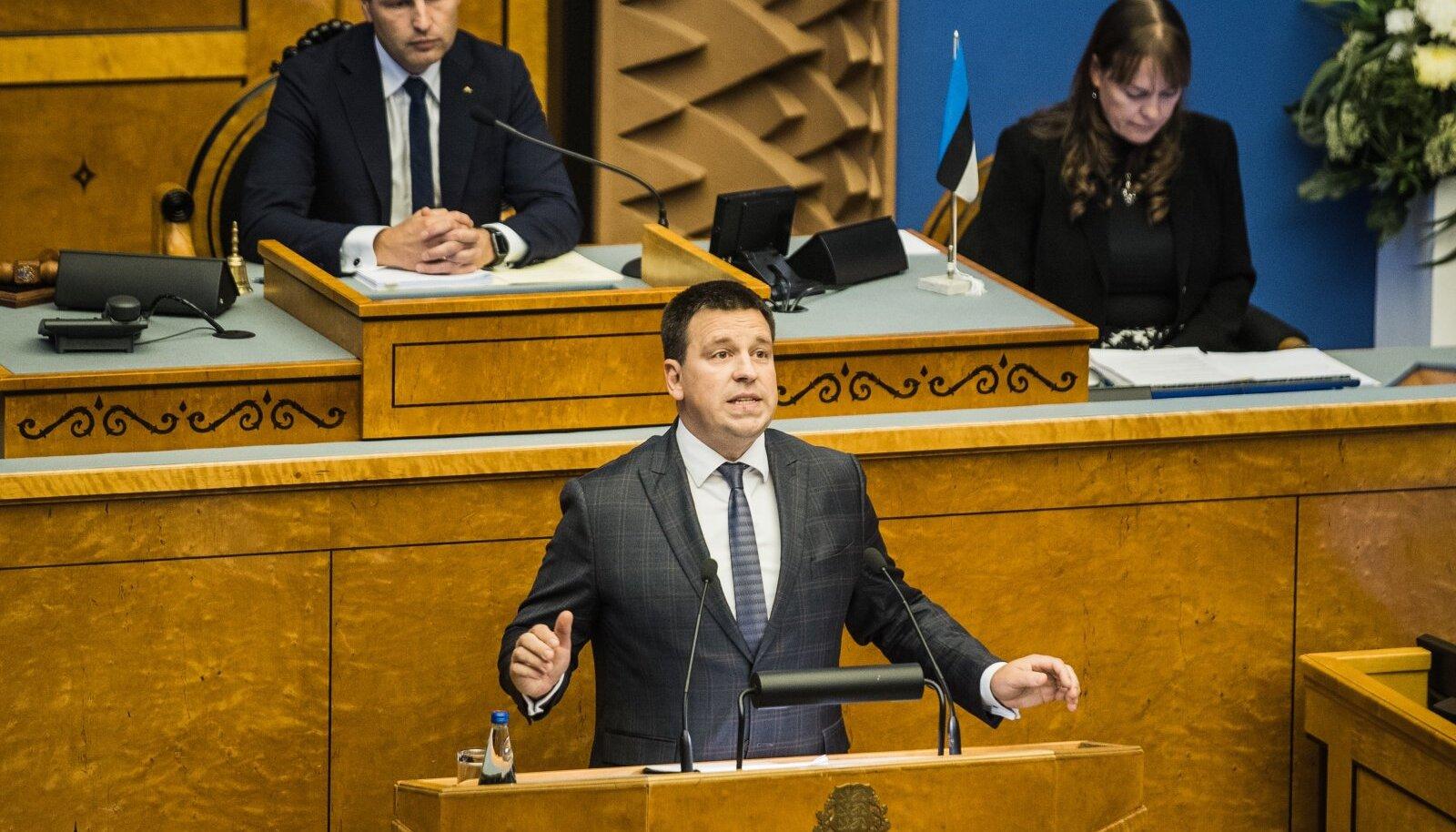 Riigikogu alustab sügisest istungjärku