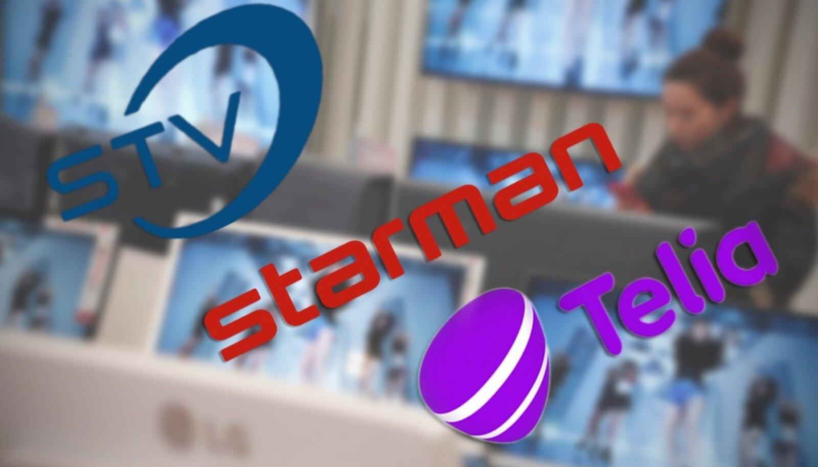 Telia, Starman, STV