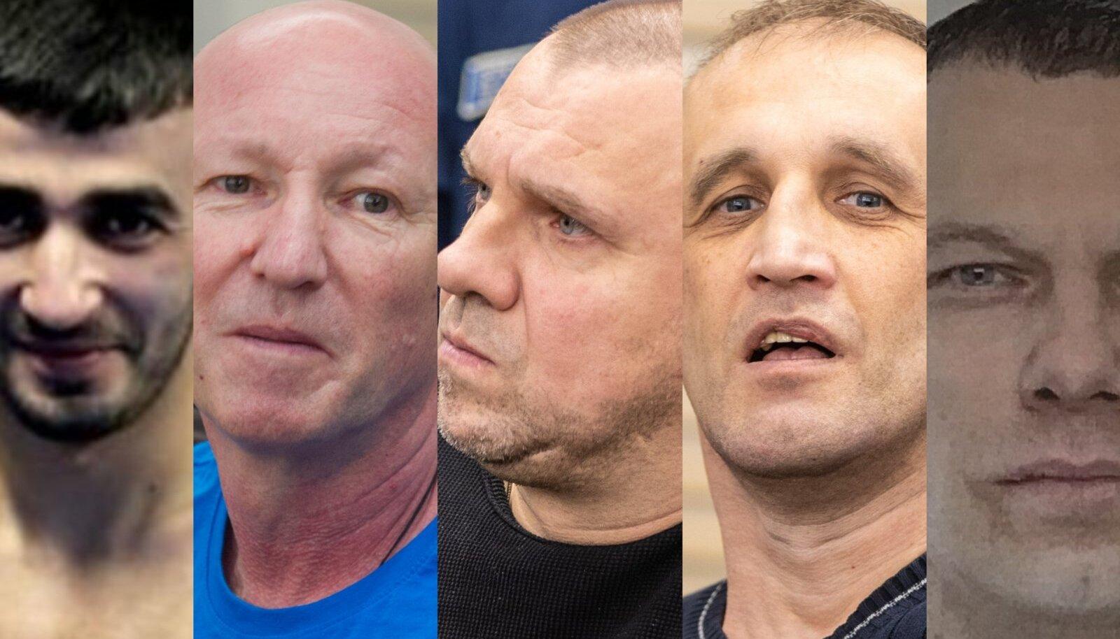 VASAKULT: Amid Magerramov, Vjatšeslav Gulevitš, Aleksei Seltsenkov, Aleksandr Kozlov, Dmitri Neimark.