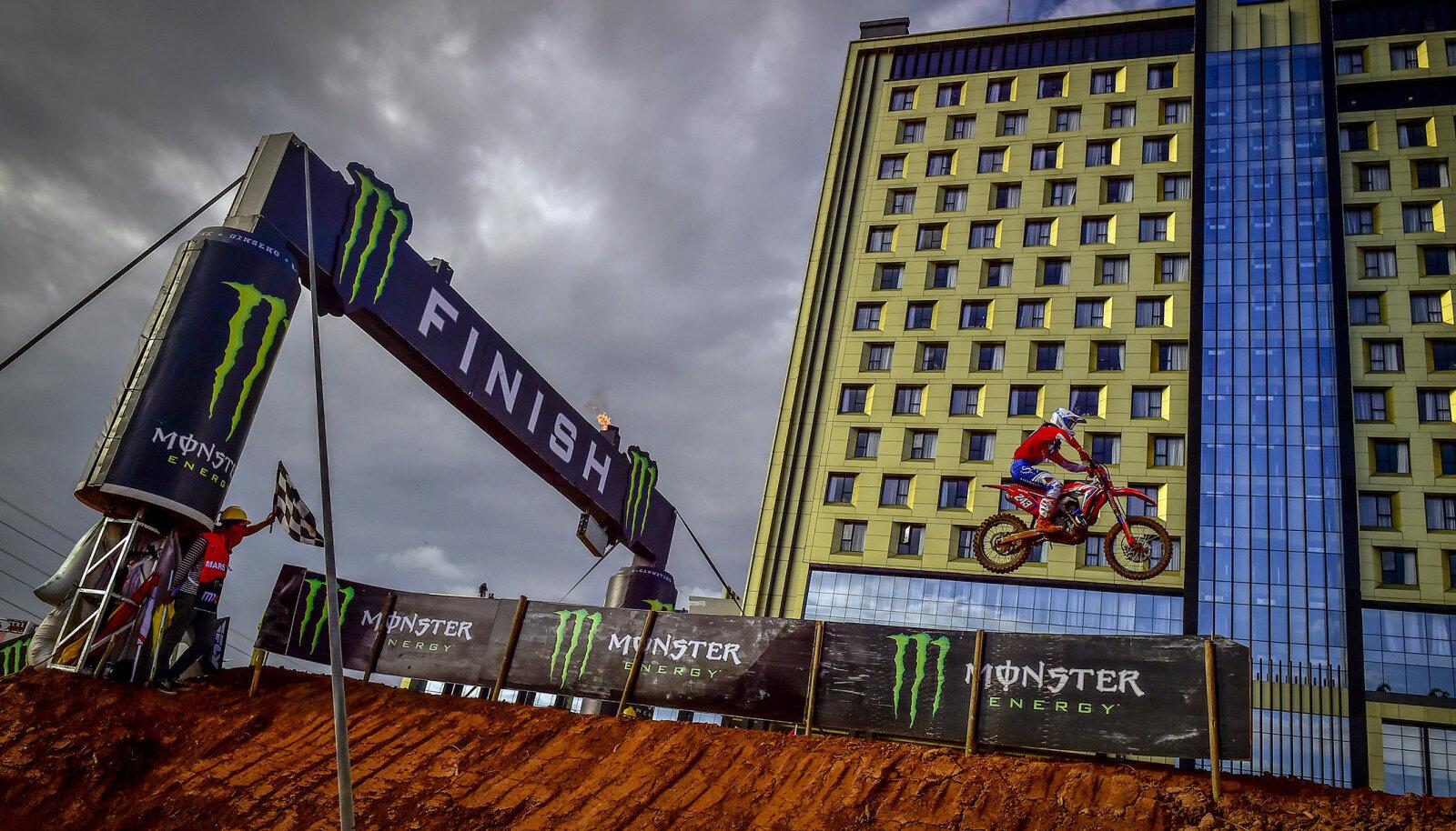 Tim Gajser viimasel etapil Indoneesias.
