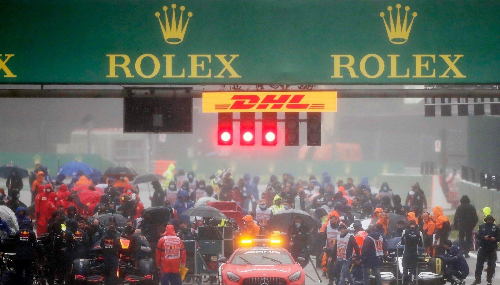 Belgia GP start.