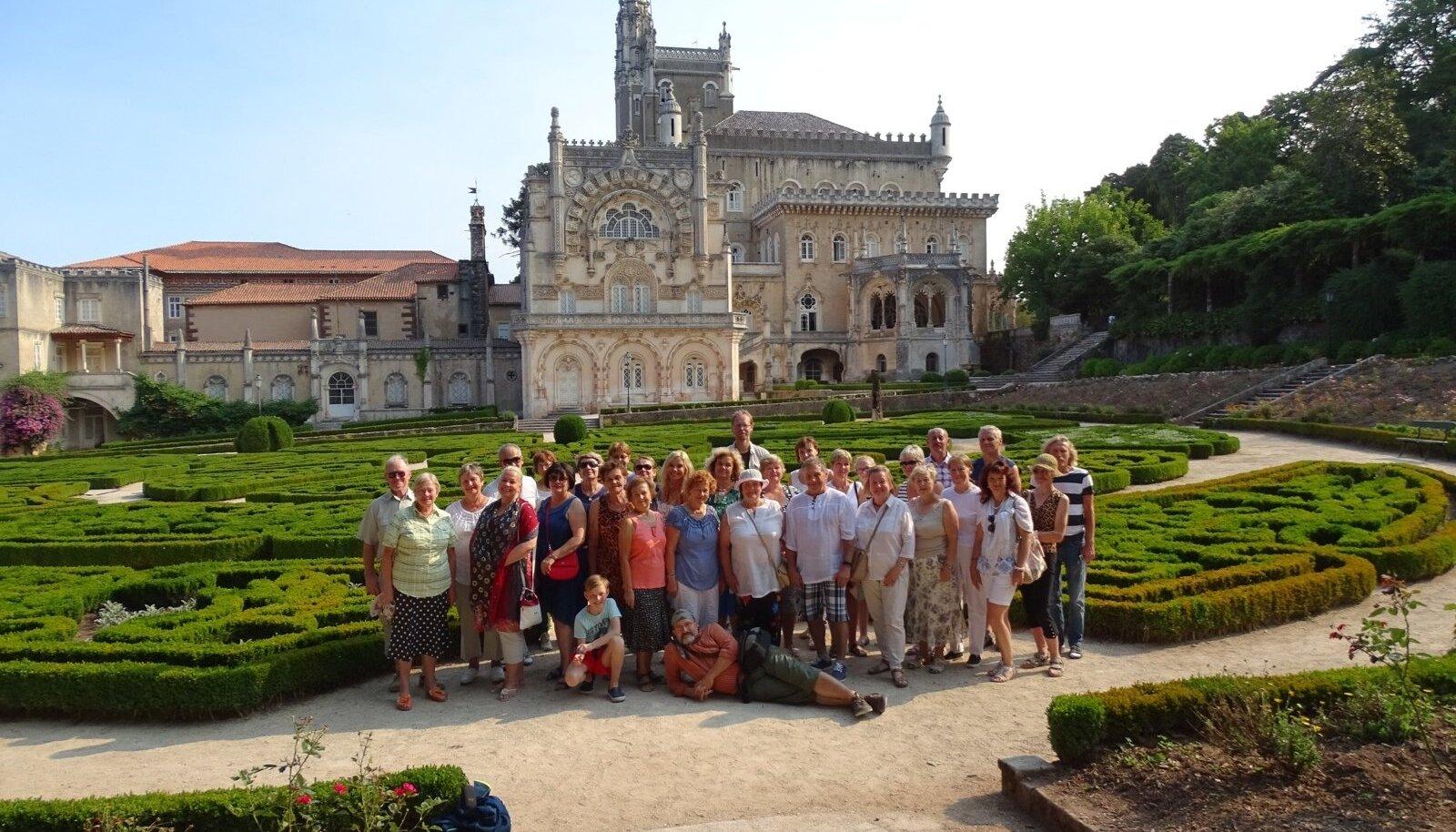Portugali reisigrupp.