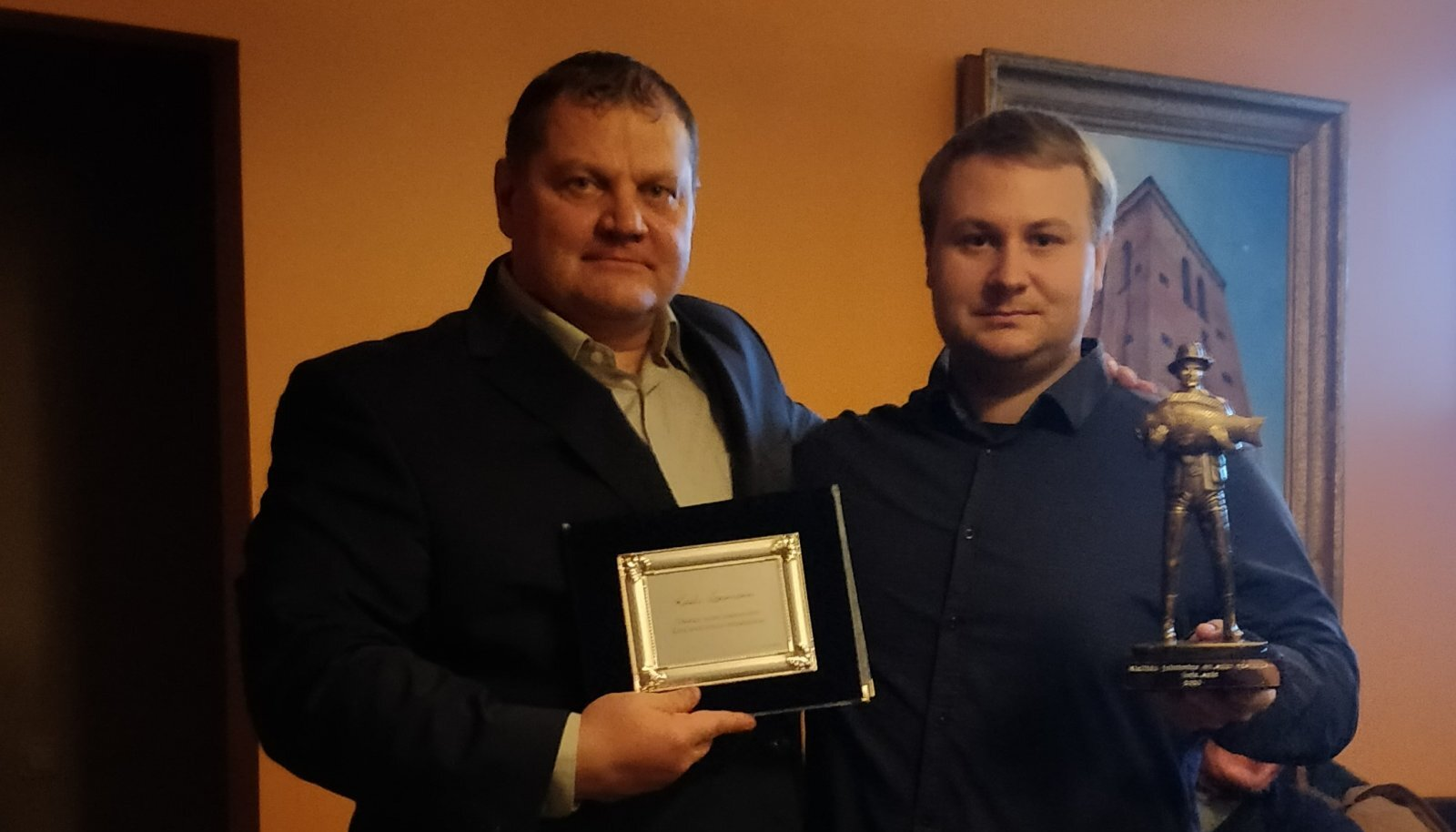 Kaido Leesmann ja Alexander Andrusenko.