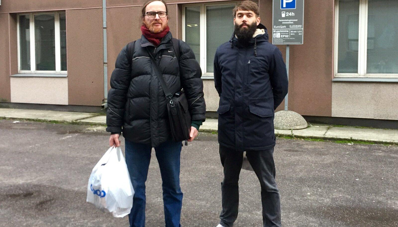 Mehis Heinsaar ja Taavet Kase