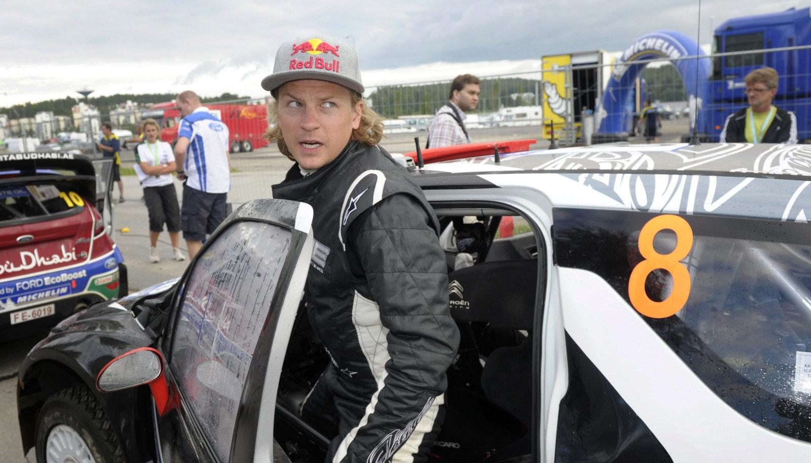 Kimi Räikkönen 2011. aasta Soome MM-rallil