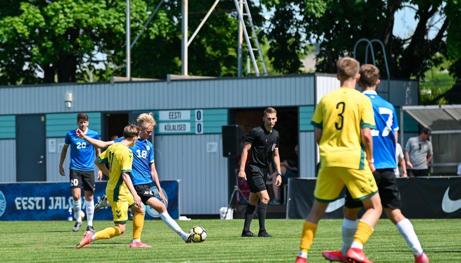 Eesti - Leedu jalgpall