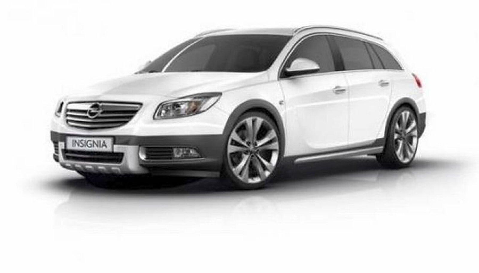 Opel Crossfour