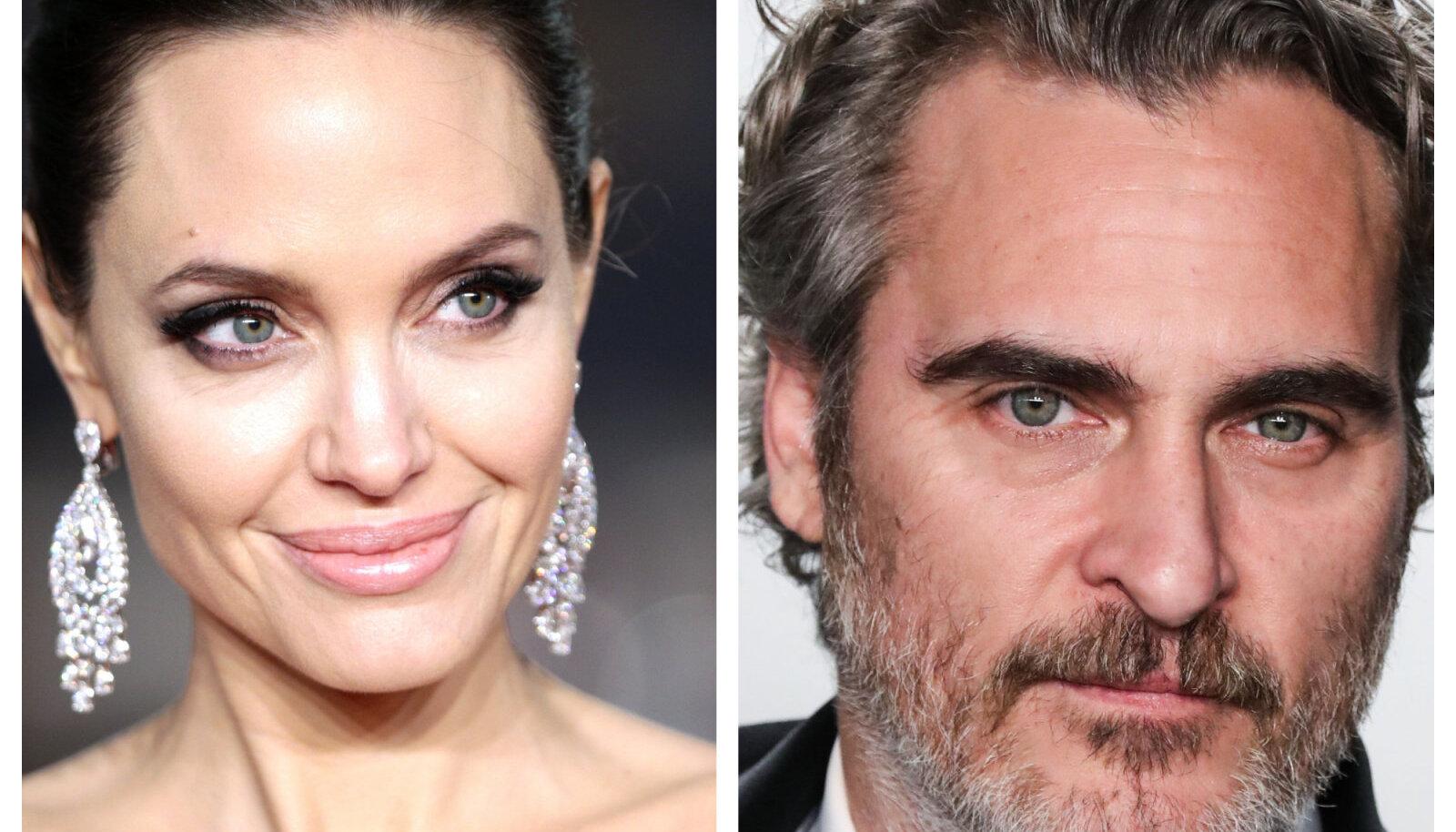 Angelina Jolie ja Joaquin Phoenix