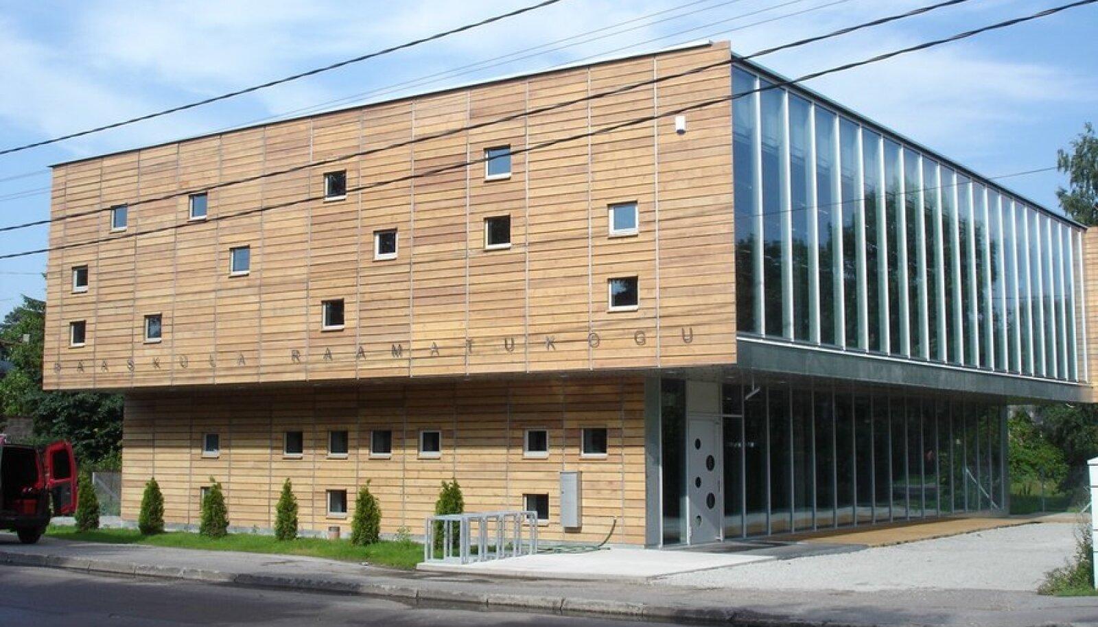 Pääsküla raamatukogu. (Foto: Alar Rästa)