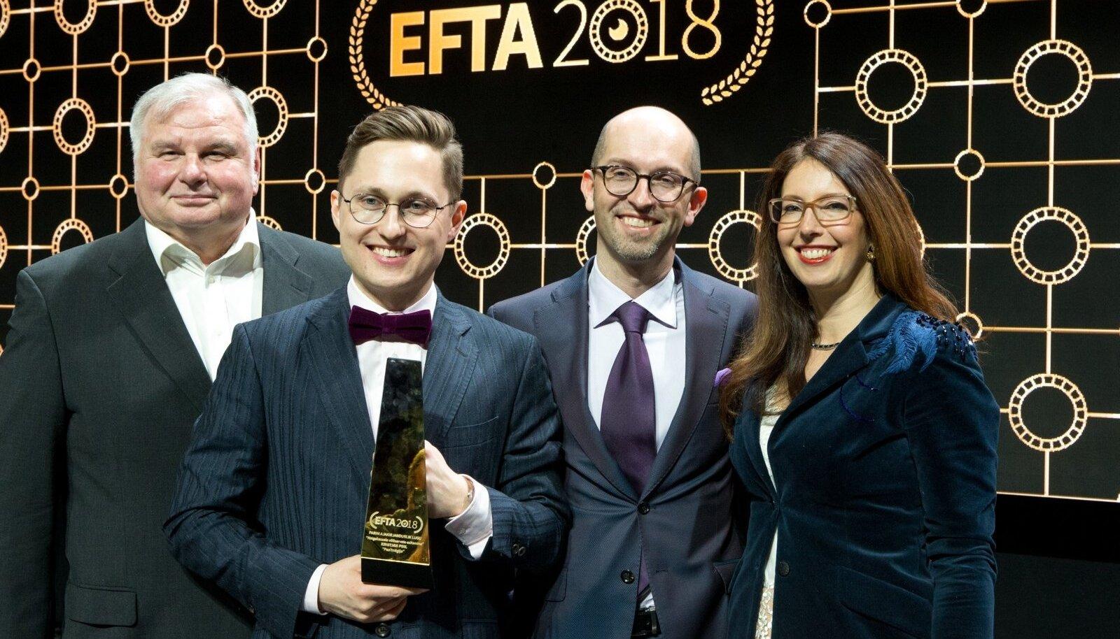 EFTA 2018 gala