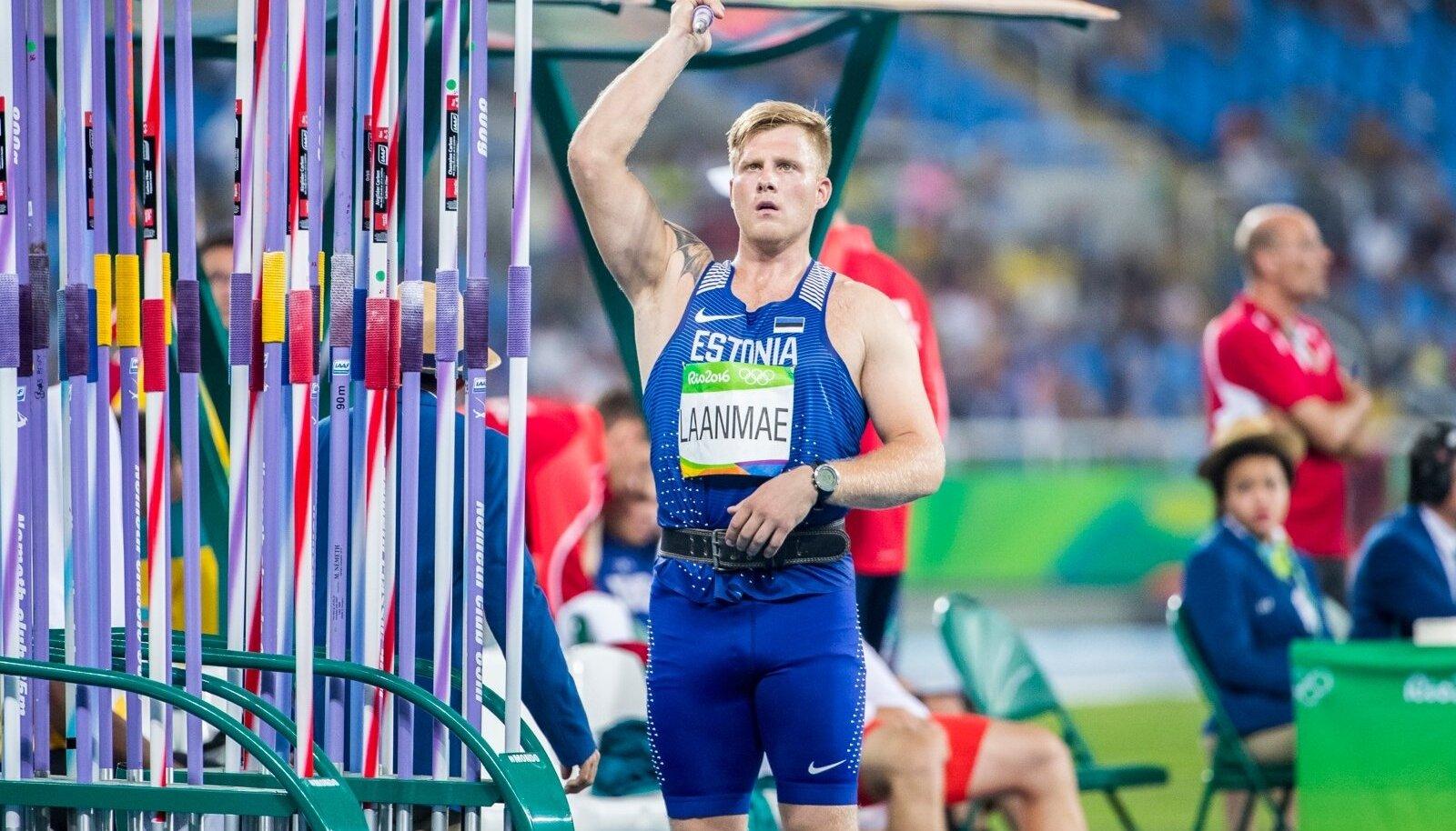 Tanel Laanmäe Rio de Janeiro olümpial