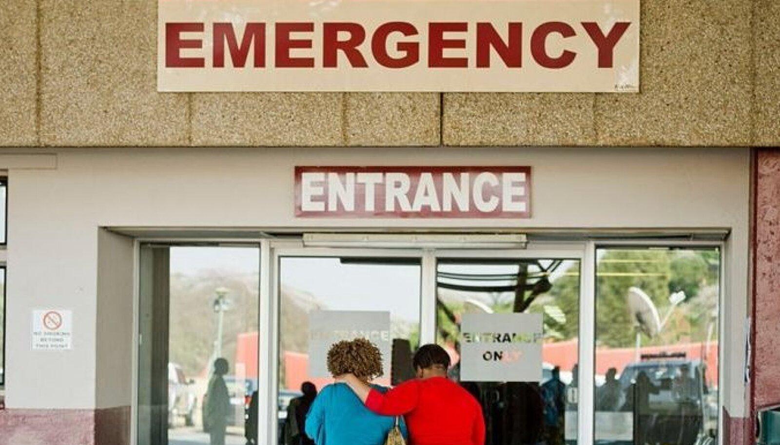 """Сообщалось, что младенцы родились в больнице """"Стив Бико"""", но власти говорят, что возможностей для этого там попросту нет"""