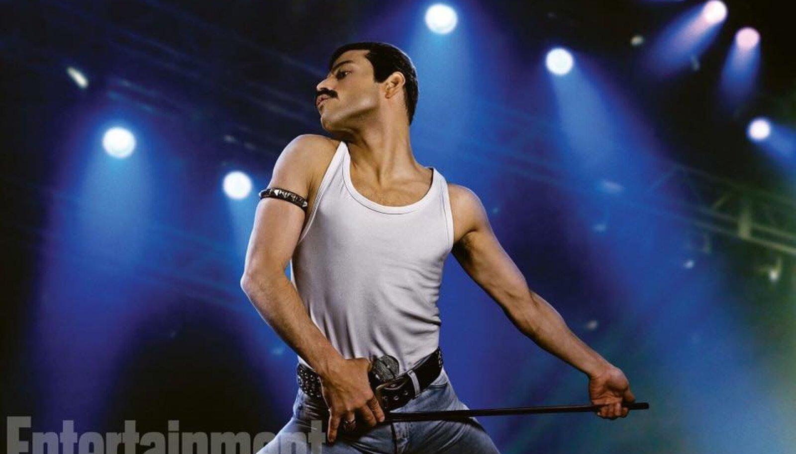 Rami Malek on Freddie Mercury filmis Bohemian Rhapsody (2018)