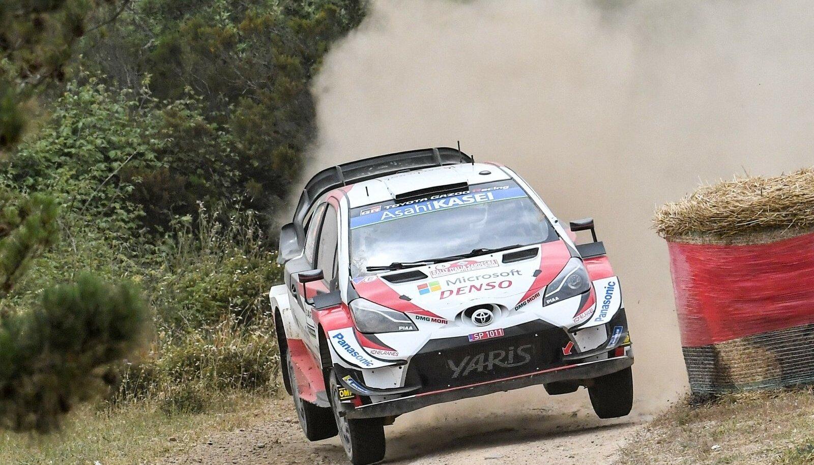 Kris Meeke Toyota roolis.