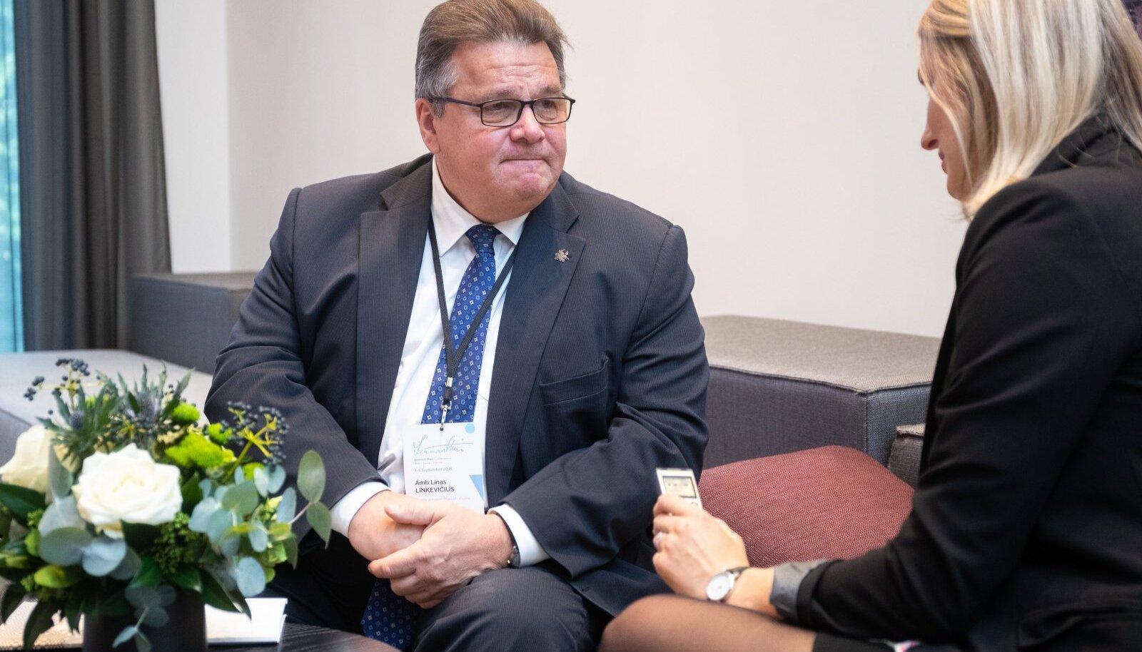 Leedu endine välisminister Linas Linkevičius käis hiljuti Tallinnas Lennart Meri konverentsil, kus oli Valgevene käitumisest palju juttu.