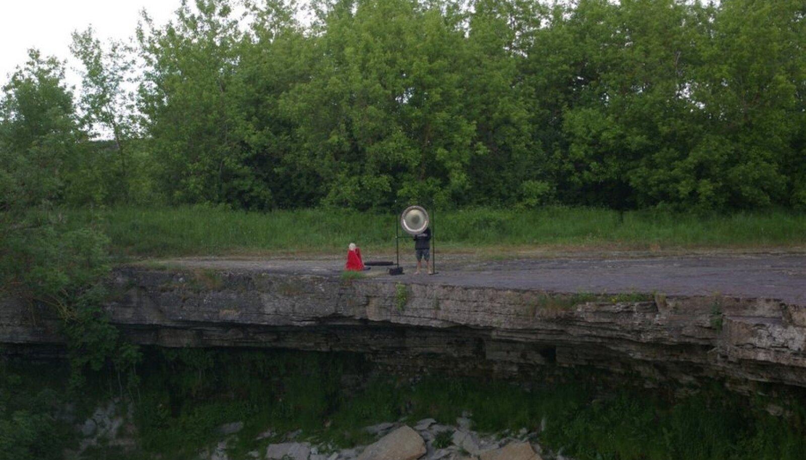 Omapärane rituaal Jägala joal