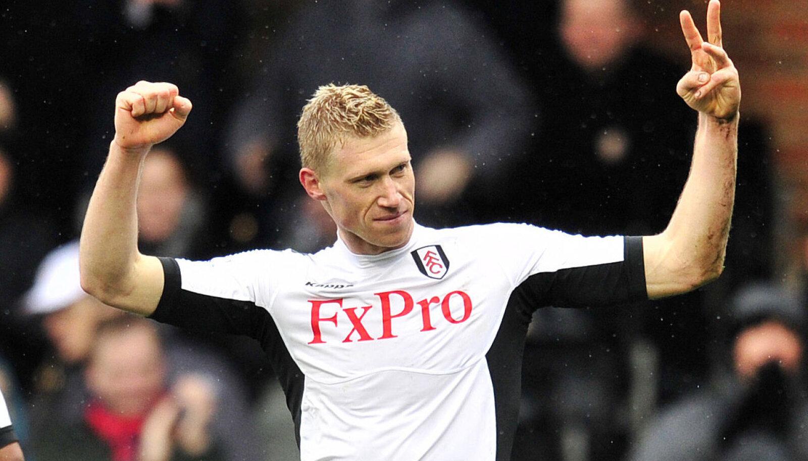 Pavel Pogrebnjak Fulhami särgis 2012. aastal.