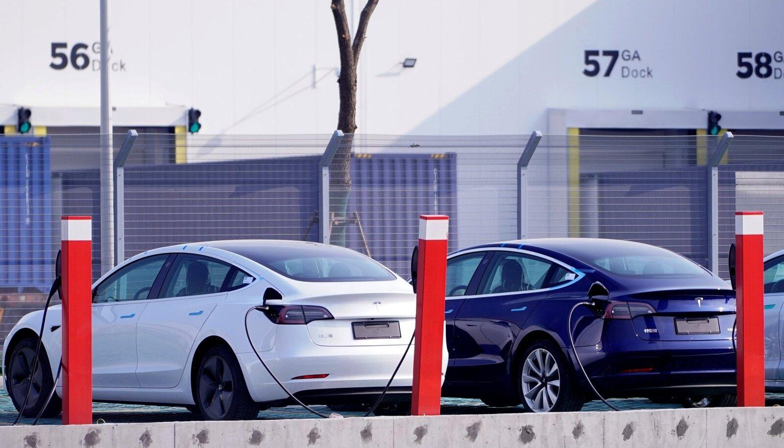 Tesla Model 3 elektriautod