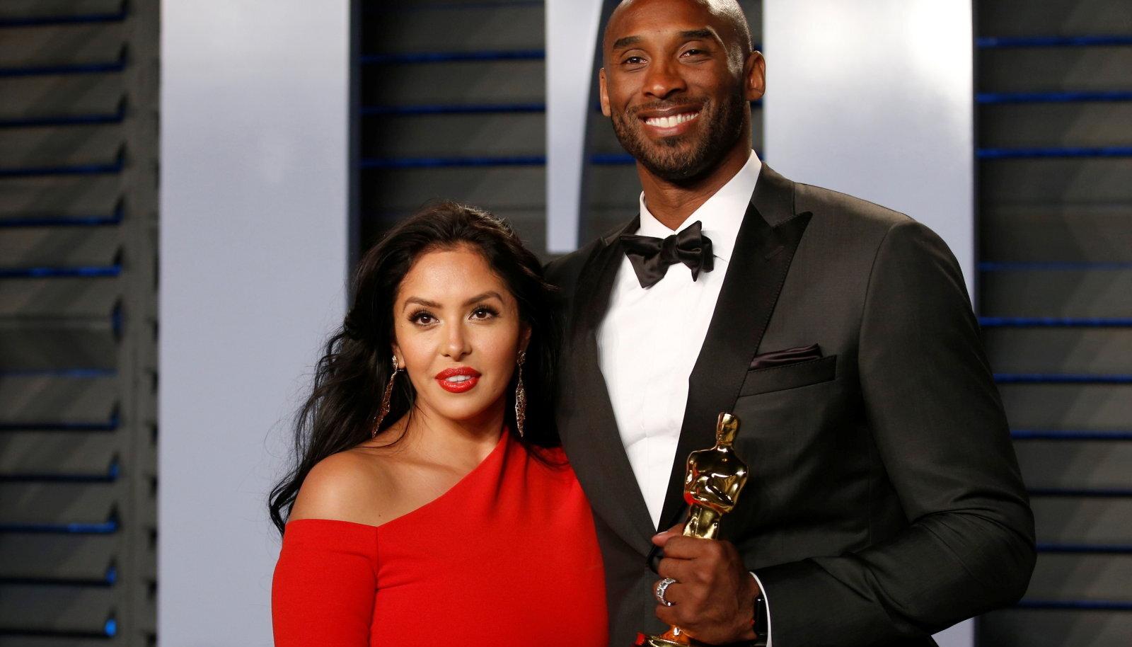 Vanessa ja Kobe Bryant 2018. aastal.