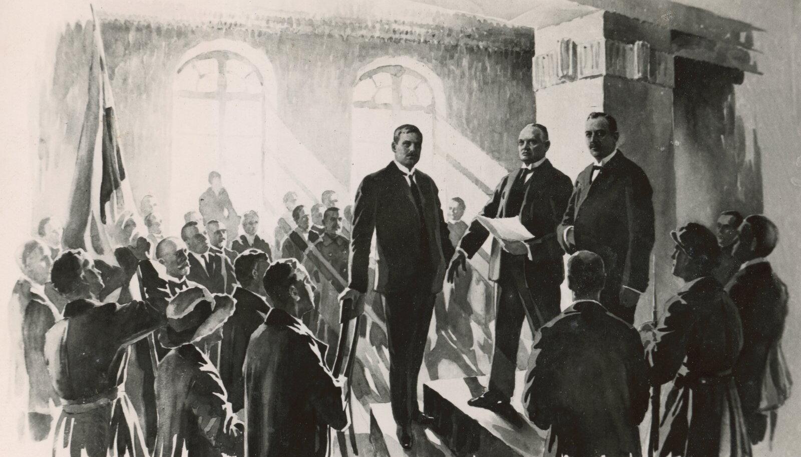 Eesti Vabariigi väljakuulutamine 24.II.1918