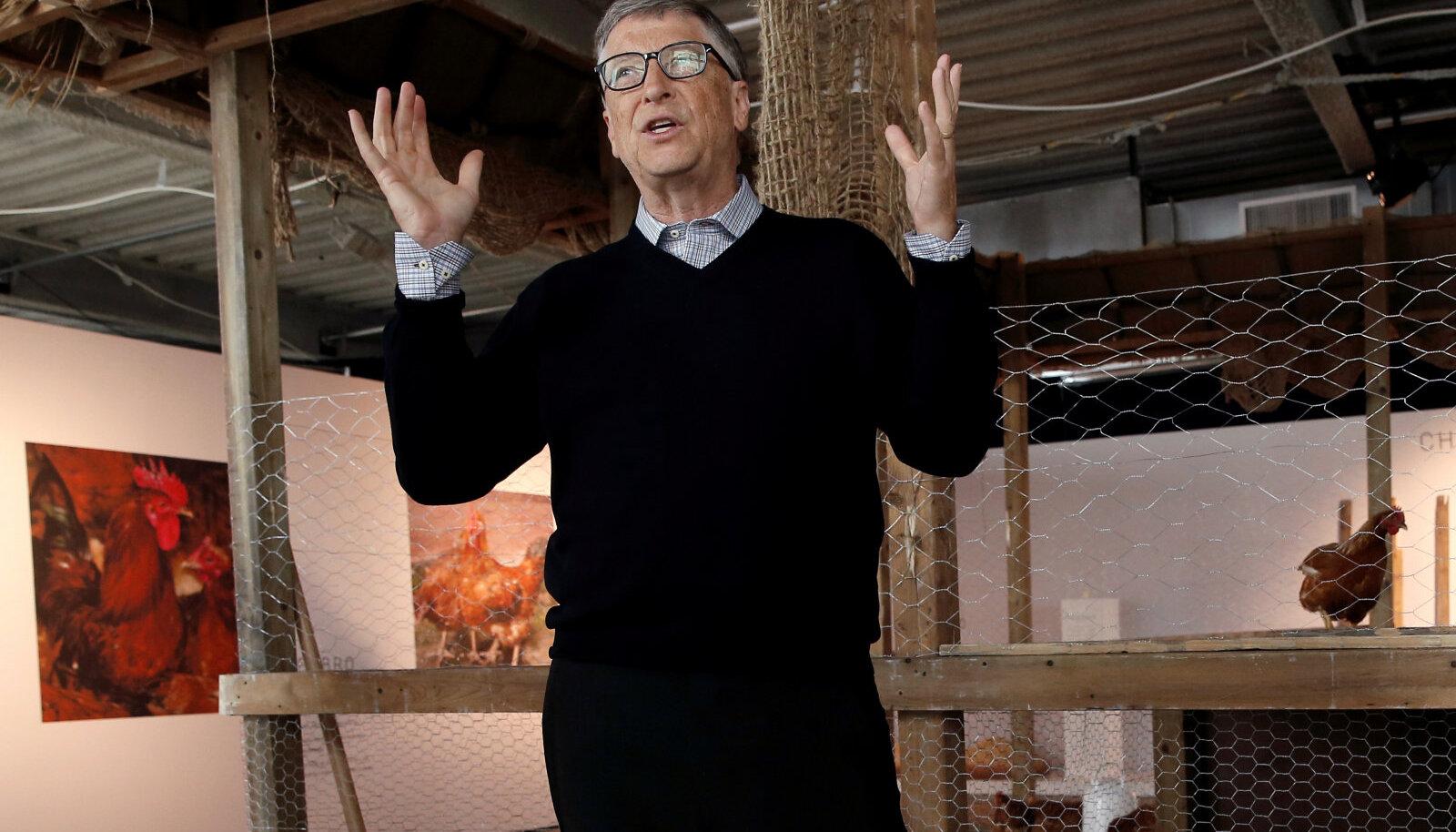 Microsofti asutaja Bill Gates osaleb Manhattanil kanakasvatamise ettevõtmises