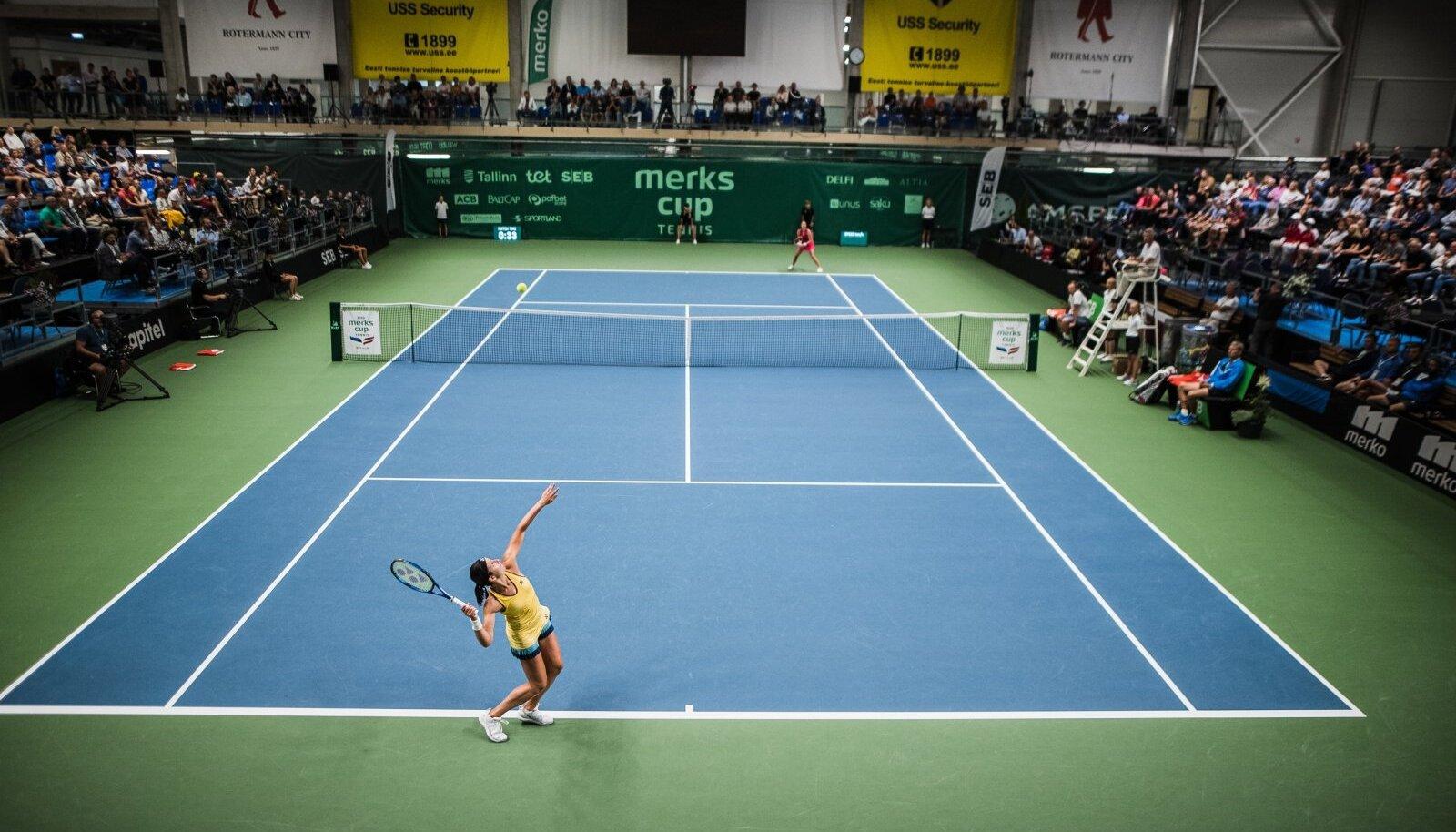 Tennis. Pilt on illustratiivne